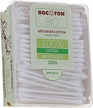 Parfums et Produits cosmétiques Coton-tiges en coton bio, 200 pcs - Bocoton Bio