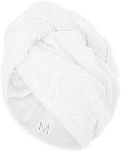 Parfums et Produits cosmétiques Serviette pour cheveux, blanc - MakeUp
