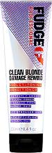 Parfums et Produits cosmétiques Après-shampooing déjaunisseur pour cheveux blonds - Fudge Clean Blonde Damage Rewind Conditioner