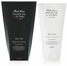 Parfums et Produits cosmétiques Bath House Spanish Fig and Nutmeg - Gel de rasage