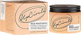 Parfums et Produits cosmétiques Émulsion vegan à la poudre de coquilles d'argan pour visage - UpCircle Face Moisturiser With Argan Powder