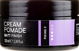 Parfums et Produits cosmétiques Crème-pommade pour cheveux et barbe,finition mate - Dandy Matt Finish Cream Pomade Matte Wax For Hair And Beard