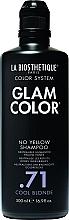 Parfums et Produits cosmétiques Shampooing anti-jaunissement - La Biosthetique Glam Color No Yellow Shampoo .71 Cool Blonde