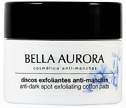Parfums et Produits cosmétiques Disques exfoliants anti-taches pigmentaires pour visage - Bella Aurora Anti-Dark-Spot Exfoliation Pads