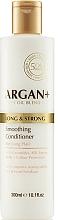 Parfums et Produits cosmétiques Après-shampooing aux céramides et acides aminés de soie - Argan + Long & Strong Smoothing Conditioner