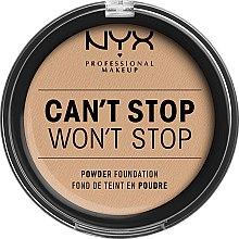 Parfums et Produits cosmétiques Fond de teint en poudre - NYX Professional Makeup Can't Stop Won't Stop Powder Foundation