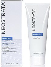 Parfums et Produits cosmétiques Lotion exfoliante à l'acide glycolique pour visage - Neostrata Resurface Lotion Plus