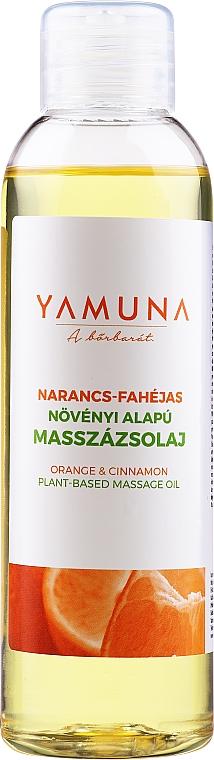 Huile de massage Orange et Cannelle - Yamuna Orange-Cinnamon Plant Based Massage Oil