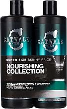 Parfums et Produits cosmétiques Set soin cheveux - Tigi Catwalk Oatmeal & Honey (shampooing/750ml + après-shampooing/750ml)