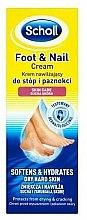 Parfums et Produits cosmétiques Crème pour pieds et ongles - Scholl Moisturizing Foot and Nail Cream