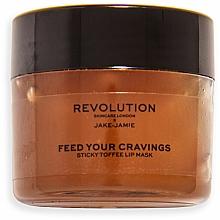 Parfums et Produits cosmétiques Masque à l'arôme de pudding au caramel pour lèvres - Revolution Skincare X Jake Jamie Sticky Toffee Pudding Lip Mask