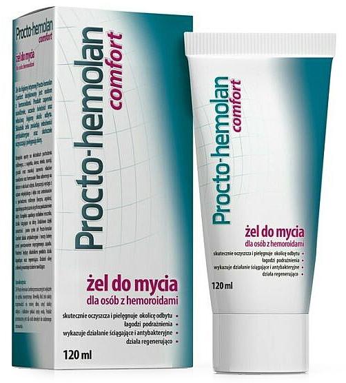Gel nettoyant pour hémorroïdes - Aflofarm Procto-Hemolan Comfort Cleaning Gel
