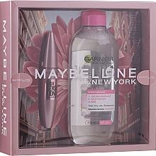 Parfums et Produits cosmétiques Set (mascara/9.5ml + eau micellaire/400ml) - Maybelline New York