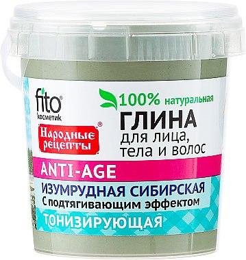 Argile anti-âge sibérienne pour visage, corps et cheveux - FitoKosmetik Recettes folkloriques