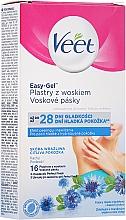 Parfums et Produits cosmétiques Bandes de cire froide pour corps, peaux sensibles - Veet Easy-Gel
