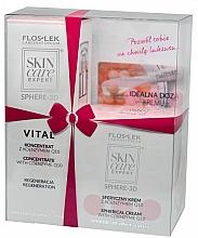 Parfums et Produits cosmétiques Coffret cadeau - Floslek Skin Care Expert Vital (cream/10.5g+serum/30ml)