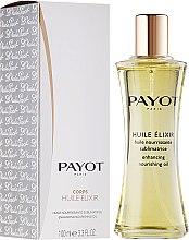 Parfums et Produits cosmétiques Huile sèche sublimatrice pour visage, corps et cheveux - Payot Enhancing Nourishing Oil