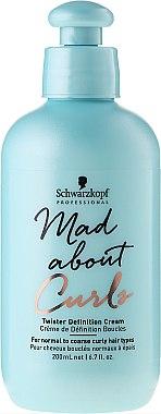 Crème de définition boucles - Schwarzkopf Professional Mad About Curls Twister Definition Cream