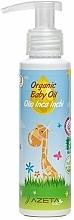 Parfums et Produits cosmétiques Huile bio à l'huile de graines d'inca inchi pour bébé - Azeta Bio Organic Baby Oil Inca Inchi