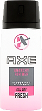 Parfums et Produits cosmétiques Déodorant spray parfumé - Axe Anarchy Deo Spray For Her