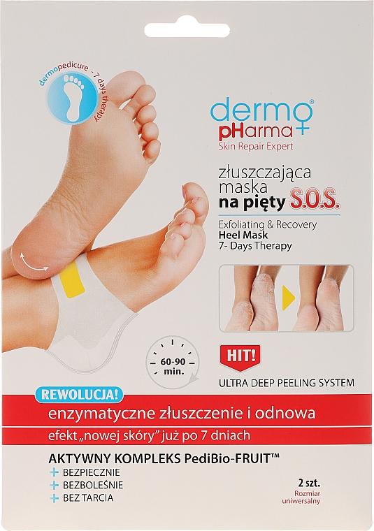 Masque exfoliant enzymatique pour pieds - Dermo Pharma Skin Repair Expert