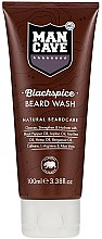 Parfums et Produits cosmétiques Gel nettoyant au thé vert pour barbe - Man Cave Blackspice Beard Wash