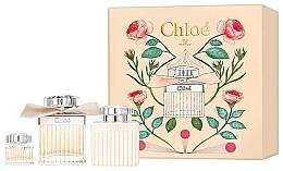 Parfums et Produits cosmétiques Chloe Eau de Parfum - Coffret (eau de parfum/75ml + lait corps/100ml + eau de parfum mini/5ml)