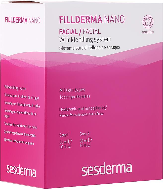 Système en deux étapes pour combler des rides - SesDerma Laboratories Fillderma nano Wrinkle Filling System — Photo N1
