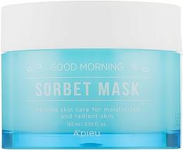 Parfums et Produits cosmétiques Masque à l'extrait de citrouille et eau de glacier pour visage - A'pieu Good Morning Sorbet Mask