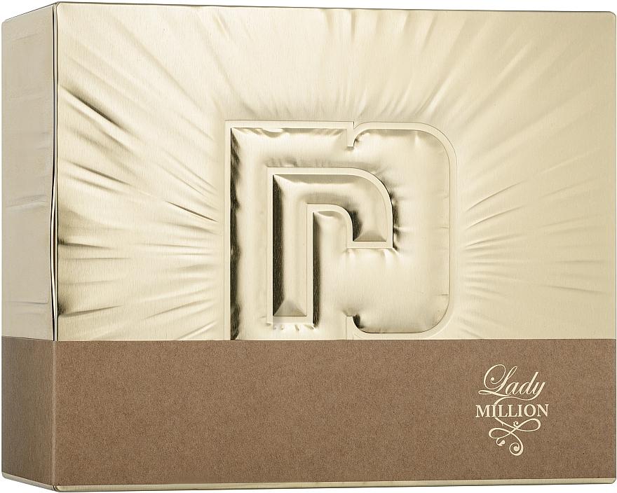 Paco Rabanne Lady Million - Coffret (eau de parfum/50ml + eau de parfum/10ml + lotion corporelle/75ml)