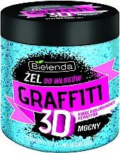 Parfums et Produits cosmétiques Gel coiffant à la kératine et acide hyaluronique - Bielenda GRAFFITI 3D Strong Stayling Hair Gel