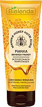 Parfums et Produits cosmétiques Bielenda Manuka Honey Nutri Elixir Facial Foam - Mousse nettoyante au miel de Manuka et gelée royale pour visage