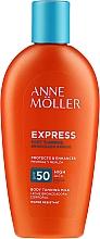 Parfums et Produits cosmétiques Crème solaire accélérateur de bronzage pour le corps SPF 50 - Anne Moller Express Sunscreen Body Milk SPF50