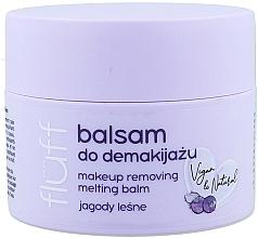 Parfums et Produits cosmétiques Démaquillant - Fluff Makeup Remover Balm Wild Blueberries