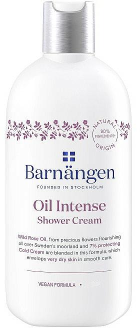 Crème de douche à l'huile de rose musquée - Barnangen Oil Intense Shower Cream — Photo N1