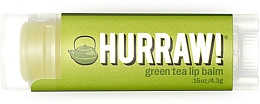 Parfums et Produits cosmétiques Baume à lèvres à l'extrait de thé vert - Hurraw! Green Tea Lip Balm
