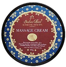 Parfums et Produits cosmétiques Crème de massage aux extraits d'herbe du tigre et d'aloe vera - Sabai Thai Jasmine Aroma Massage Cream