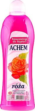 Concentré de bain, Rose - Achem Concentrated Bubble Bath Rose