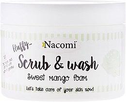 Parfums et Produits cosmétiques Gel douche exfoliant parfumé à la mangue - Nacomi Scrub and Wash Sweet Mango Foam