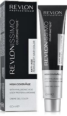 Gel-crème colorant permanent - Revlon Professional Revlonissimo NMT High Coverage — Photo N1