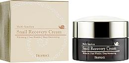 Parfums et Produits cosmétiques Crème à l'extrait de mucus d'escargot pour visage - Deoproce Snail Recovery Cream