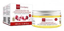 Parfums et Produits cosmétiques Gommage lissant aux canneberges pour pieds et talons - GoCranberry Cranberry Smoothing Foot & Heel Scrub