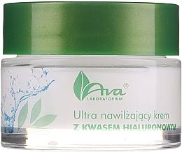 Parfums et Produits cosmétiques Crème ultra-hydratante à l'acide hyaluronique pour visage - AVA Laboratorium Ultra Moisturizing Hyaluronic Cream