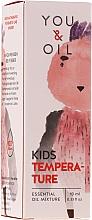 Parfums et Produits cosmétiques Mélange bio d'huiles essentielles pour enfants, temperature - You & Oil KI Kids-Temperature Essential Oil Mixture