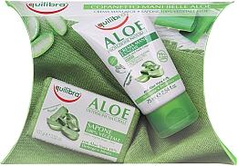 Parfums et Produits cosmétiques Equilibra Aloe - Set (crème pour mains/75ml + savon/100g)