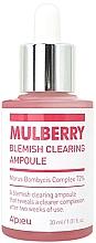 Parfums et Produits cosmétiques Essence-ampoule à l'extrait de mûrier pour visage - A'pieu Mulberry Blemish Clearing Ampoule