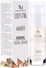 Parfums et Produits cosmétiques Sérum à la poudre d'ambre pour visage - SM Collection Crystal Amber Facial Serum
