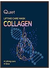 Parfums et Produits cosmétiques Masque au collagène pour visage - Quret Lifting Care Mask Collagen