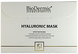 Parfums et Produits cosmétiques Masque tissu hyaluronique pour visage - Biodermic Hyaluronic Mask