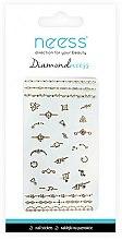 Parfums et Produits cosmétiques Autocollants pour ongles, 3712 - Neess Diamondneess